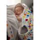 Snugglebundl baby blanket Funky Spots 5