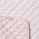 Filibabba Quilted Playmat Indian Dusty Rose Mata z bawełny organicznej faktura materiału