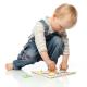 organic Woodboon SHAPES TRIANGLE Puzzle Układanka Edukacyjna 4