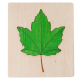 organic woodboon SYCOMORE LEAF układanka 3