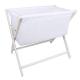 Little Chick London Crib White Oddychające łóżeczko dostawne 3