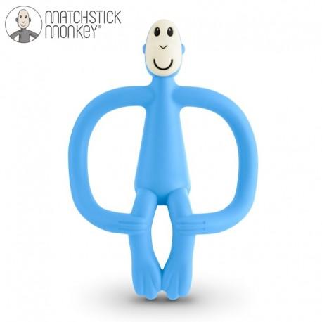 Matchstick Monkey Light Blue Gryzak Masujący ze Szczoteczką