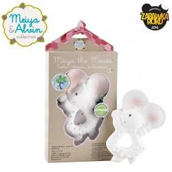 Meiya & Alvin - Gryzak z organicznego kauczuku Hevea Meiya Mouse Organic Rubber Teether