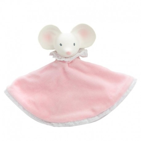 Meiya & Alvin - Meiya Mouse Snuggly Comforter with Organic Teether Head zwycięzca konkursu ZABAWKA ROKU 2016 5