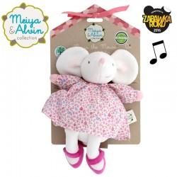 Meiya & Alvin - Lalka przytulanka z pozytywką Meiya Mouse