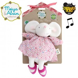 Meiya & Alvin - Meiya Mouse Musical Lulluby Doll with Soft Head