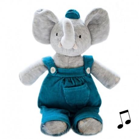 Meiya & Alvin - Alvin Elephant Musical Lulluby Doll with Soft Head zdobywca nagrody ZABAWKA ROKU 2016 4