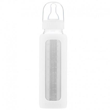 Eco Viking Antykolkowa Butelka Szklana dla Niemowląt 240 ml White Mist