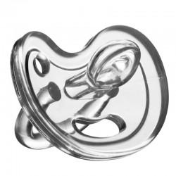 Eco Viking Anatomiczny Smoczek Uspokajający SiliMed Tranparent wiek 0m+