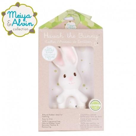 Meiya & Alvin - Havah Rabbit Organic Rubber Teether