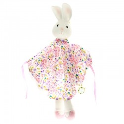 Meiya & Alvin - Havah Bunny Snuggly Comforter with Organic Teether Head