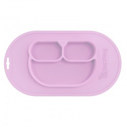 Eco Viking BLW 4 in 1 Eating Helper Owl Pink