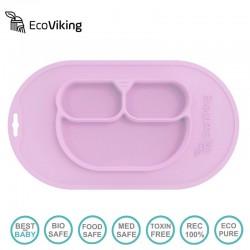 Eco Viking BLW 4 in 1 Eating Helper Owl Pink