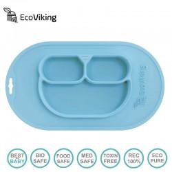 Eco Viking BLW 4 in 1 Eating Helper Owl Arctic Blue