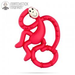 Matchstick Mini Monkey Red Gryzak Masujący