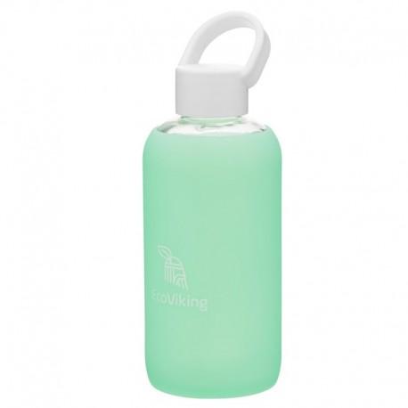 Eco Viking Pure Water Mint Szklana Butelka Nawadniająca dla Mam