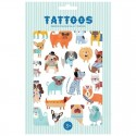 Petit Monkey - Tattoo Dogs imprezowy zestaw tatuaży dla dzieci