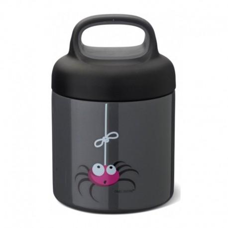 Carl Oscar TEMP Lunch Jar - Termos ze szlachetnej stali nierdzewnej Grey - Spider
