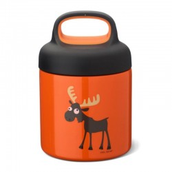 Carl Oscar TEMP Lunch Jar - Termos ze szlachetnej stali nierdzewnej Orange - Moose