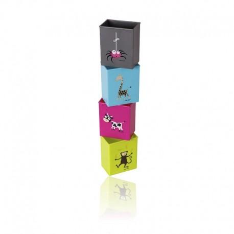 Carl Oscar- Juice Box Holders 4 PACK Uchwyty na soki w kartonikach