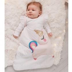 Bizzi Growin Śpiworek dla noworodka do spania Jednorożec 2.5 TOG rozmiar 0+