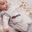 Bizzi Growin Śpiworek niemowlęcy do spania Leniwiec 2.5 TOG rozmiar 6-18 m