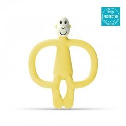 Matchstick Monkey BioCote® Banana Gryzak Masujący ze szczoteczką