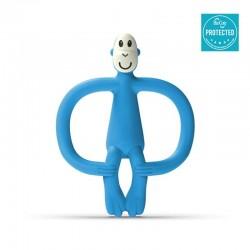 Matchstick Monkey BioCote® Azure Blue Gryzak Masujący ze szczoteczką