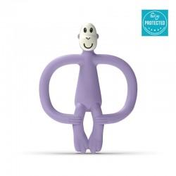 Matchstick Monkey BioCote® Lavender Purple Gryzak Masujący ze szczoteczką