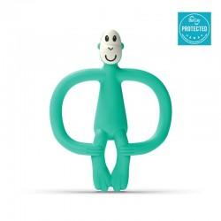 Matchstick Monkey BioCote® Mint Green Gryzak Masujący ze szczoteczką