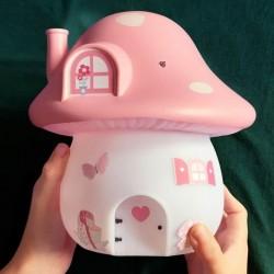 A Little Lovely Company - Duża lampa Domek Wróżek z naklejkami - Ogród Wróżek