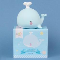 A Little Lovely Company - Mała Lampka Wieloryb