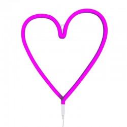 A Little Lovely Company - Neon świetlny Różowe Serduszko