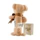 Maud N Lil Cubby The Teddy Stick Rattle Grzechotka Organiczna Miękka 2