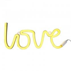 A Little Lovely Company - Neon świetlny LOVE IS SUNNY