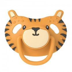 Dumforter 3in1 smoczek z gryzakiem + kocyk przytulanka Tygrys Terry