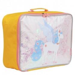 A Little Lovely Company - Lśniąca walizeczka GLITTER Jednorożec