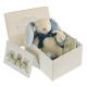 Maud N Lil Oscar the Bunny Soft Organiczny Mięciutki Przyjaciel w pudełeczku