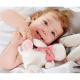 Maud'N'Lil Rose the Bunny Soft Organiczny Mięciutki Przyjaciel przytulanka