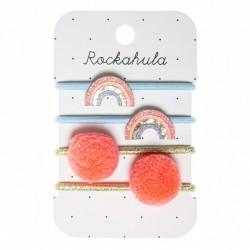 Rockahula Kids - gumki do włosów Rainbow