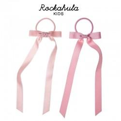 Rockahula Kids - gumki do włosów POLLYANNA VELVET Peach
