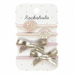 Rockahula Kids - gumki do włosów Shimmer Shell
