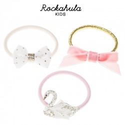 Rockahula Kids - 3 gumki do włosów Sophia Swan