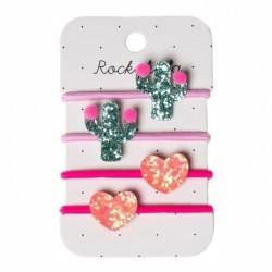Rockahula Kids - gumki do włosów Pom Pom Cactus