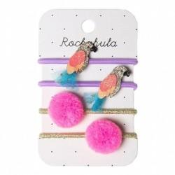 Rockahula Kids - gumki do włosów Pablo Parrot