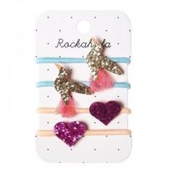 Rockahula Kids - gumki do włosów Koliberek