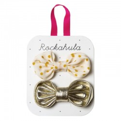 Rockahula Kids - spinki do włosów Spotty Tie