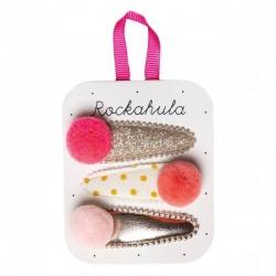 Rockahula Kids - spinki do włosów Pandora Clips Coral