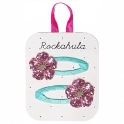Rockahula Kids - spinki do włosów Hibiscus Glitter