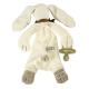 Maud N Lil Opiekun smoczka z organicznej BIO bawełny GOTS Ears The Bunny Comforter 2in1